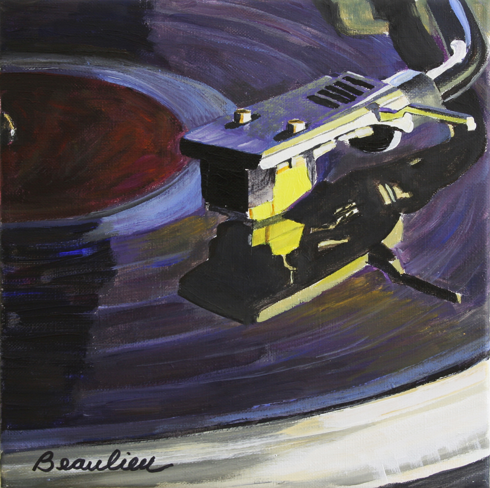 Daily Painting Gt Vintage Vinyl Andre Beaulieu Studio
