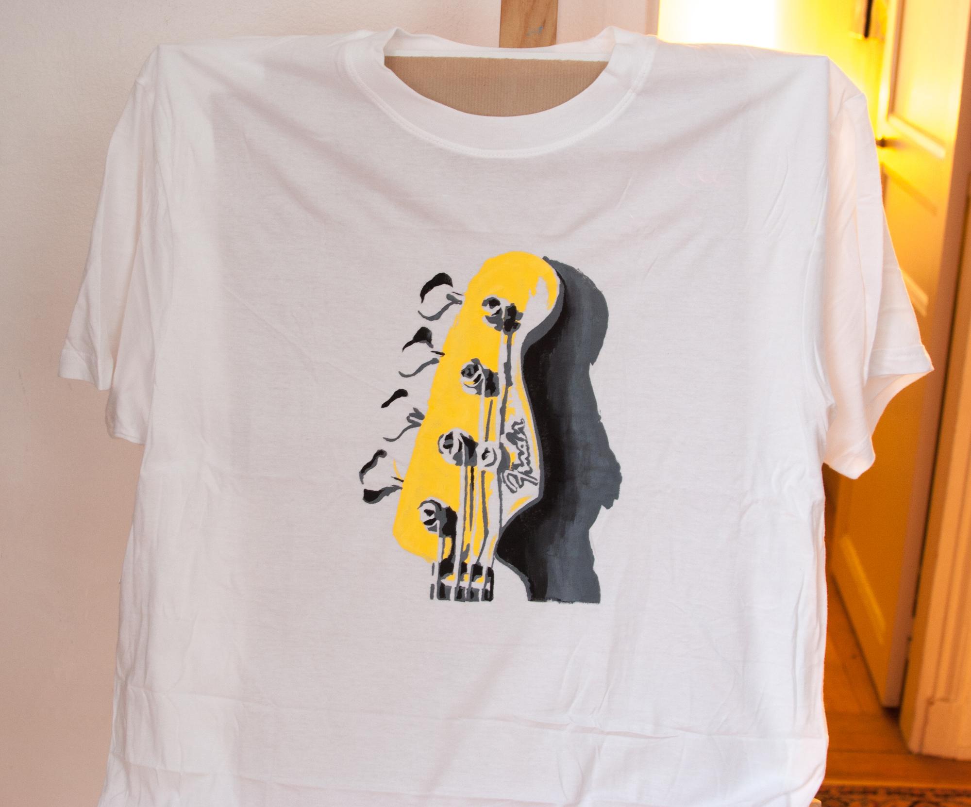 men s xl t shirt 4 colour stencil 4th colour is the shirt colour. Black Bedroom Furniture Sets. Home Design Ideas