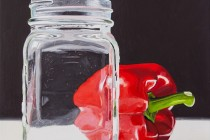 """Red Pepper & Mason Jar"" © Andre Beaulieu"