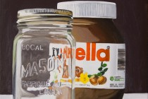 """Nutella II (oil)"" (c) by André Beaulieu"