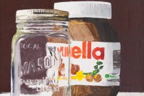 """Nutella III (palette knife)"" (c) by André Beaulieu"