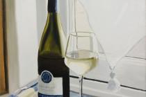 """Wine O'Clock Deux"" . (2014) . Andre Beaulieu"