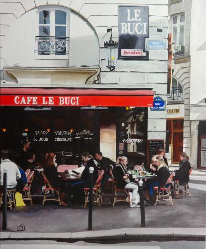 Café Le Buci . (c) 2014 . Andre Beaulieu