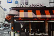 Café Au Canon des Invalides . (c) 2014 . Andre Beaulieu