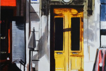 Yellow Door . (c) 2014 . Andre Beaulieu