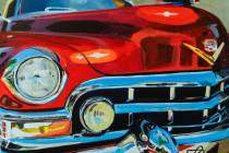 Vintage Cadillac . (c) 2014 . Andre Beaulieu