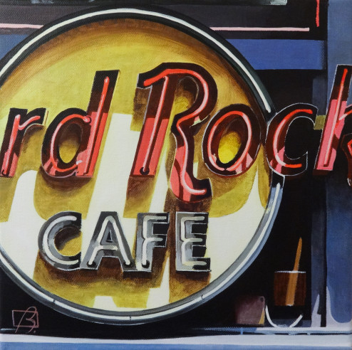 Hard Rock Cafe (Paris) . (c) 2014 . Andre Beaulieu