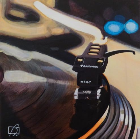 Platine vinyle. (c) 2014 . Andre Beaulieu