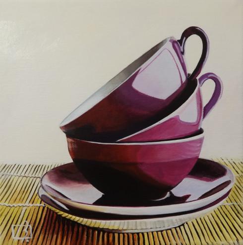Purple Cups . (c) 2014 . Andre Beaulieu