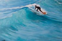 Surfer . (c) 2014 . Andre Beaulieu