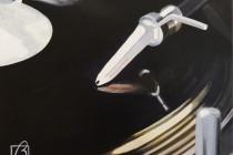 Platine vinyle IV . (c) 2015 . Andre Beaulieu