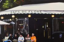 Cafe de Flore . (c) 2015 . Andre Beaulieu