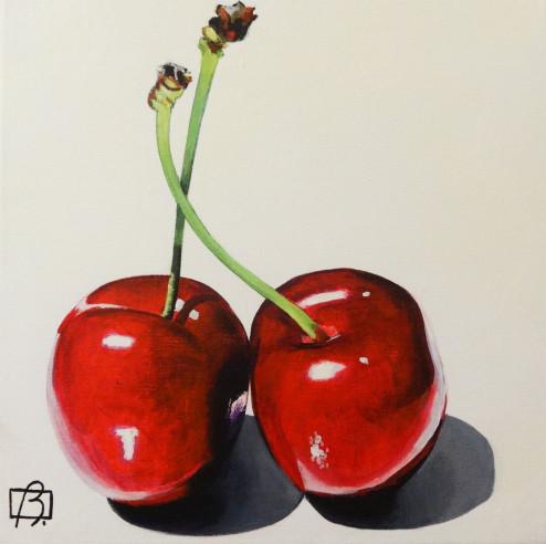 Fresh Cherries . (c) 2015 . Andre Beaulieu