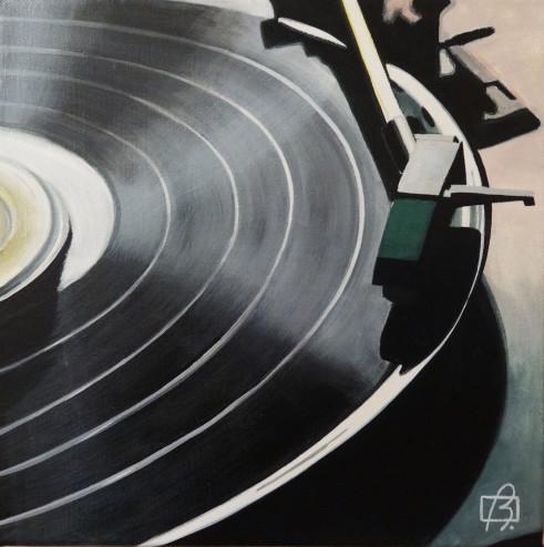 Platine vinyle III . (c) 2015 . Andre Beaulieu