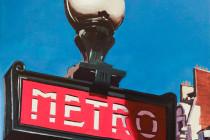 Metro Paris . (c) 2015 . Andre Beaulieu