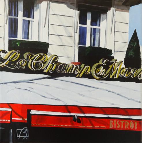 Le Champ de Mars II . (c) 2015 . Andre Beaulieu