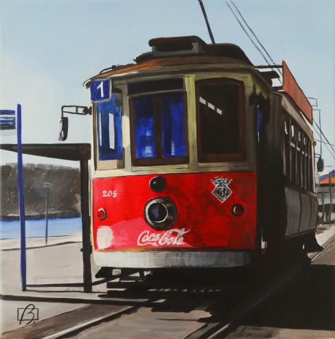 Porto Tram II . (c) 2015 . Andre Beaulieu
