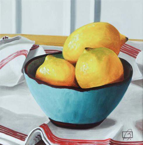 When life gives you lemons . (c) 2015 . Andre Beaulieu