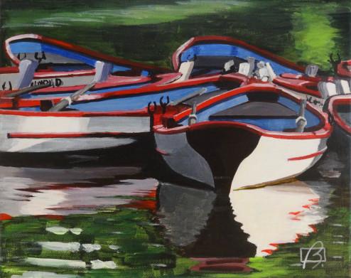 Boat Afloat II . (c) 2015 . Andre Beaulieu