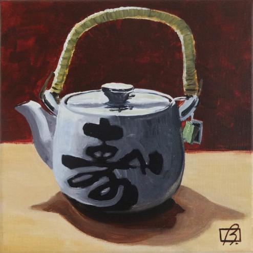 Jasmine Tea . (c) 2015 . Andre Beaulieu