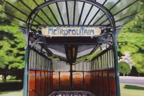 Metro Porte Dauphine . (c) 2015 . Andre Beaulieu