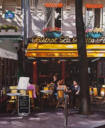 Bistrot La petite rotonde . (c) 2015 . Andre Beaulieu
