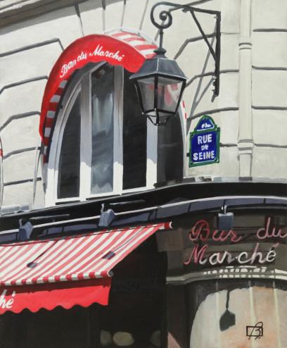 Le Bar du Marche II . (c) 2015 . Andre Beaulieu