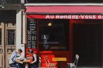 Cafe au Rendez-Vous II . (c) 2015 . Andre Beaulieu