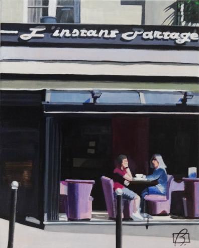 Cafe L'Instant Partagé . (c) 2015 . Andre Beaulieu