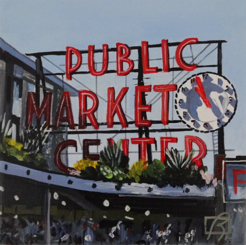 Seattle Public Market . (c) 2015 . Andre Beaulieu