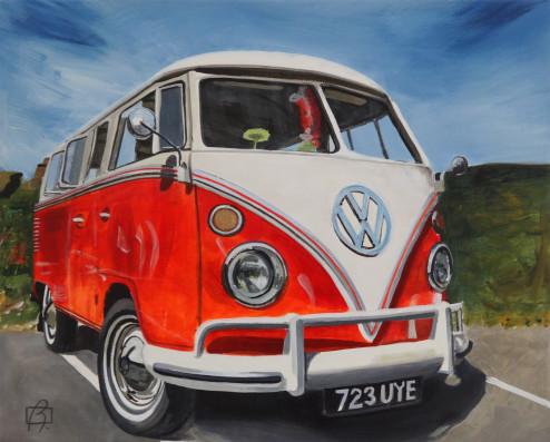 VW Bus . (c) 2015 . Andre Beaulieu