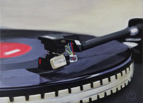 Platine vinyle V . (c) 2015 . Andre Beaulieu