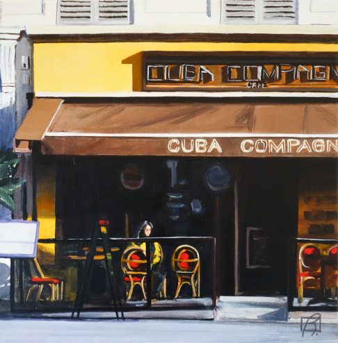 Cafe Cuba Compagnie . (c) 2016 . Andre Beaulieu