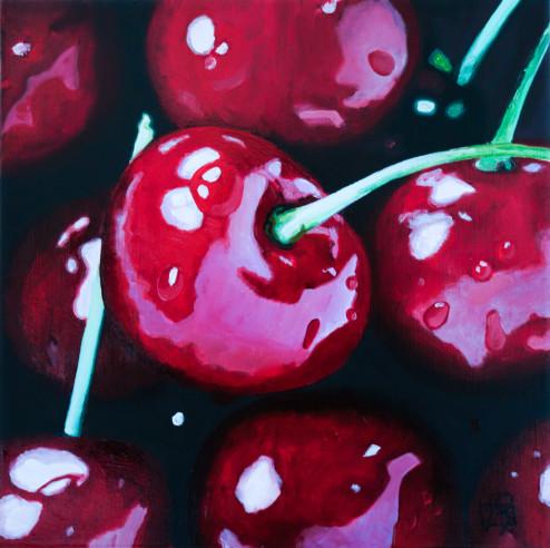 Oh Cherry Cherry . (c) 2016 . Andre Beaulieu