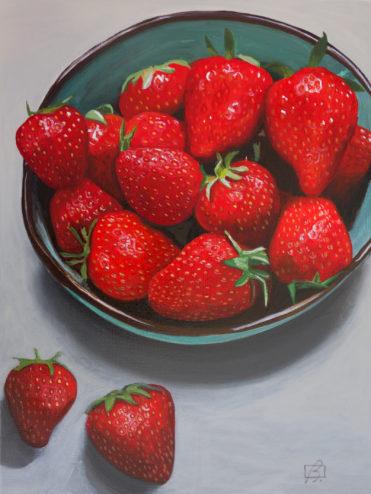 Strawberries III . (c) 2016 . Andre Beaulieu